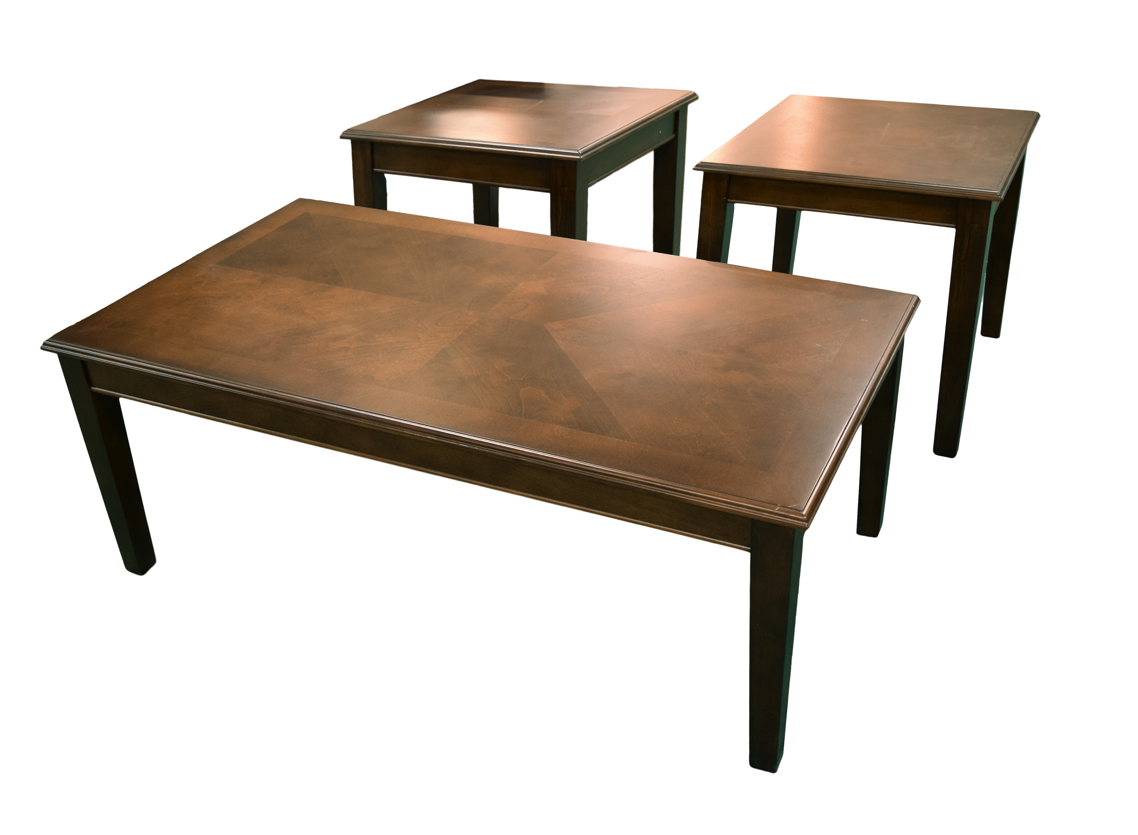 American Imports Coffee Colored Coffee And End Tables