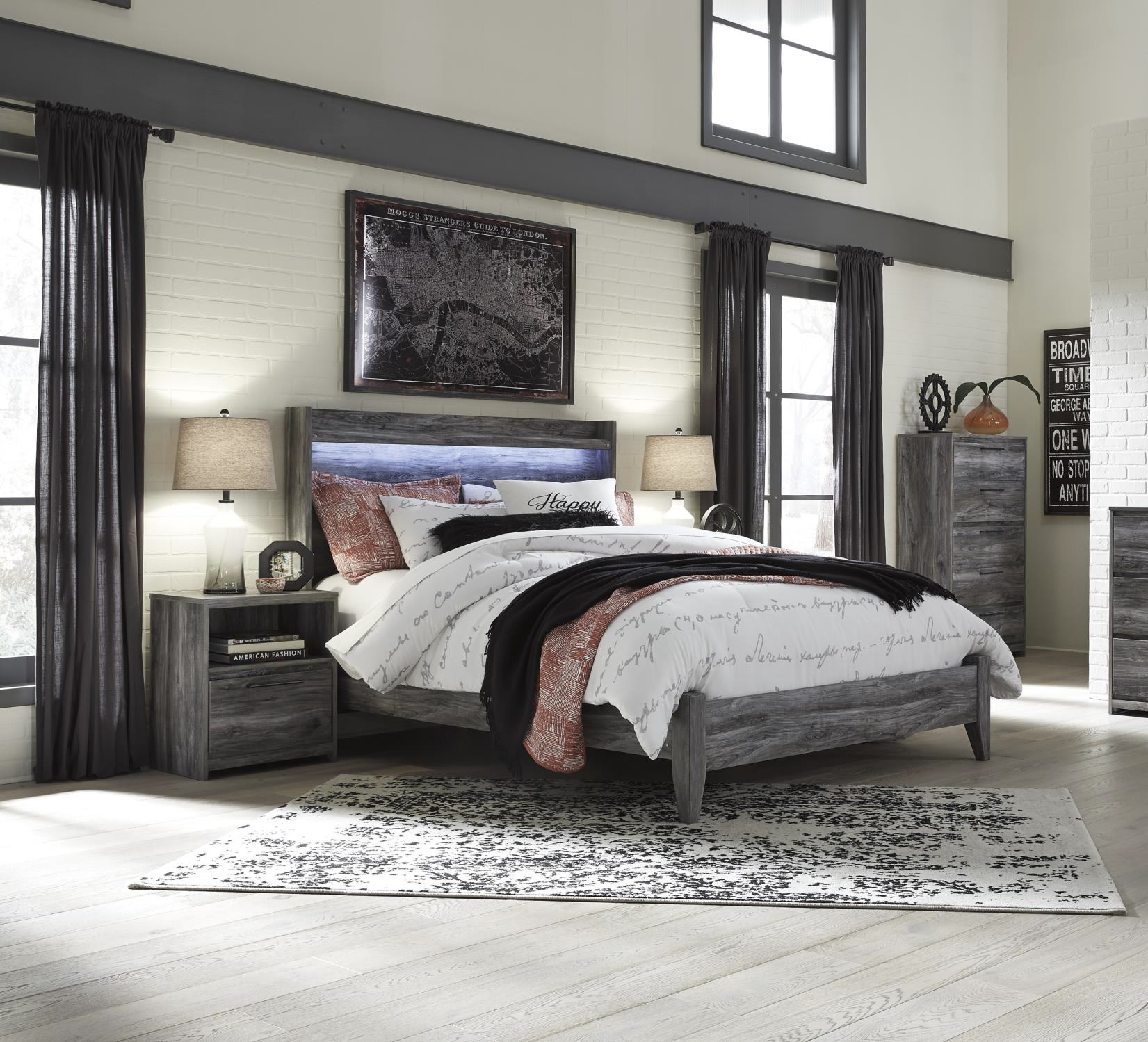 Ashley Bedroom Set The Baystorm Collection Lease Zone