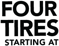 Four Tires Starting At